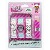 Relógio Digital LOL Surprise + Braceletes