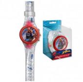 Relógio Digital Luz Led Spiderman