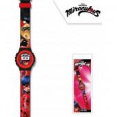Relógio Digital Miraculous Ladybug
