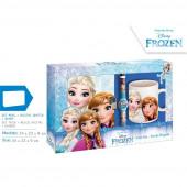 Relógio Disney Frozen, diário e caneca