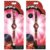 Relógio Infantil Ladybug