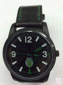 Relógio Metal Pele Sporting SCP