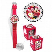 Relógio Minnie Mouse 4 em 1