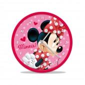 Relógio parede 25cm Disney Minnie Mouse