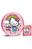 Relógio Parede Hello Kitty Rainbow