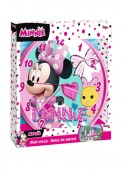 Relógio parede Minnie Mouse - Rosa