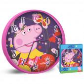 Relógio Parede Porquinha Peppa
