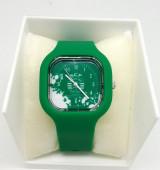 Relógio Silicone Sporting Verde