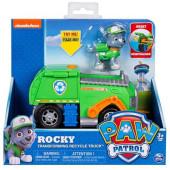 RockyTransforming Recycle truck + Figura Patrulha Pata