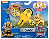 Rubble Figura Deluxe - Air Rescue Patrulha Pata