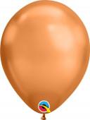 Saco 100 Balões Copper Gold Chrome 7
