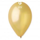 Saco 100 Balões Dourados 12