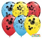Saco 25 Balões Mickey Sortidos 11