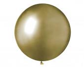 Saco 25 Balões Ouro Brilhante 19''(48cm)