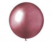 Saco 25 Balões Rosa Brilhante 19'' (48cm)