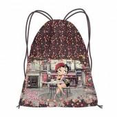 Saco Desporto Flowers Betty Boop