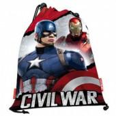 Saco desporto lanche CCapitão America Civil War Justice