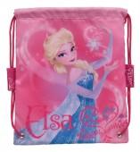 Saco desporto lanche Frozen Elsa Pink