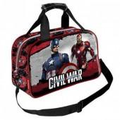 Saco desporto Marvel Capitão América Civil War Shield