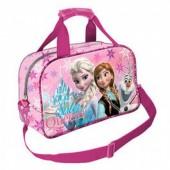 Saco desporto viagem Frozen Sister Queen Pink