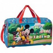 Saco desporto viagem Mickey & Pluto Best Friends