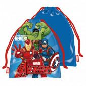 Saco Lanche Avengers Heroes 26cm