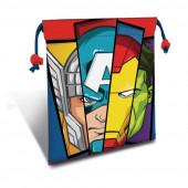Saco Lanche Avengers Marvel 22cm