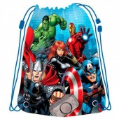 Saco lanche desporto grande Avengers Marvel Team