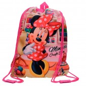 Saco Lanche/Desporto Minnie Craft Room 34cm