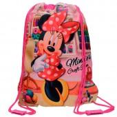 Saco Lanche/Desporto Minnie Craft Room 40cm