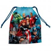 Saco lanche desporto pequeno Avengers Marvel Team