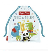 Saco Lanche Fisher Price Music and Friends 26cm
