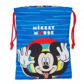 Saco Lanche Mickey Me Time 25cm