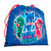 Saco lanche Pjmasks - It´s time to be a hero!