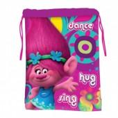 Saco lanche Trolls - Dance Hug Sing