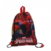 Saco mochila 22cm de Spiderman - Red City