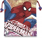 Saco mochila 22cm de Spiderman