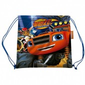 Saco mochila 35cm  Blaze e as Monster Machines