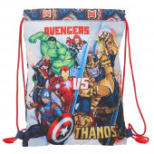 Saco Mochila Avengers Heroes vs Thanos 34cm
