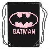 Saco Mochila Batman DC Comics Rosa 45cm