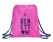 Saco mochila Benetton Heart