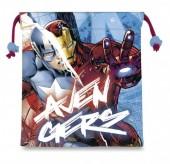 Saco Mochila com cordões 22cm Avengers