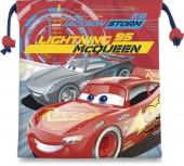 Saco Mochila com cordões 22cm  - Faísca Cars