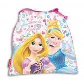 Saco Mochila com cordões 25cm Princesas Disney Forever