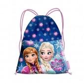 Saco mochila com cordões 35cm de Frozen - Snow