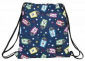 Saco mochila com cordões 40cm de Blackfit8 Popcorn