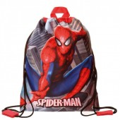 Saco Mochila de Spiderman 27cm  - City