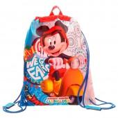 Saco Mochila/Desporto 34cm Mickey Mouse - Vespa