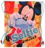 Saco mochila/desporto 41cm Mickey Mouse - Selfie