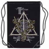 Saco Mochila Harry Potter Deathly Hallows 45cm